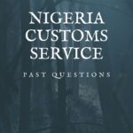 Nigeria Customs Service Past Questions And Answers