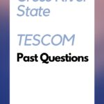 Cross River State TESCOM Past Questions And Answers