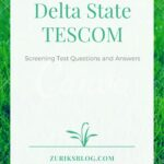 TESCOM Past Questions For Delta State