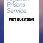 The Nigerian Prisons Service Past Questions