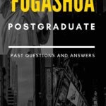 FUGASHUA Postgraduate Past Questions – How To Download