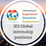 IE3 Global Internship Program In The United States Of America