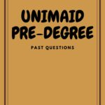UNIMAID Pre-degree Past Questions And Answers