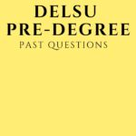 DELSU Pre-degree Past Questions And Answers