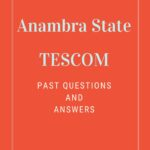 Anambra State TESCOM Past Questions And Answers