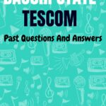 Bauchi State TESCOM Past Questions And Answers