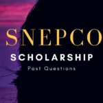 SNEPCO Scholarship Past Questions And Answers