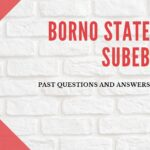 Borno State SUBEB Past Questions And Answers E-book