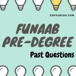 FUNAAB Pre-degree Past Questions And Answers