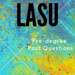 LASU Pre-degree Past Questions And Answers