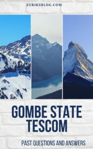 Gombe State SUBEB Past Questions