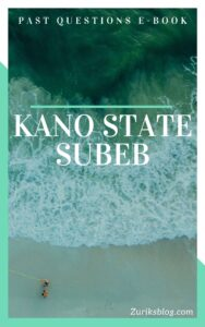 Kano State SUBEB Past Questions