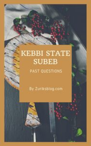 Kebbi State SUBEB Past Questions