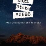 How To Download The Kogi State SUBEB Past Questions With Ease | Use Download Link