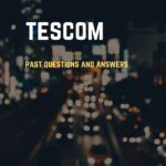 Kano State TESCOM Past Questions And Answers