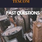 TESCOM Past Questions And Answers For Katsina State