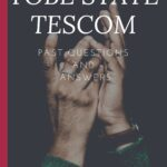 TESCOM Screening Test Past Questions For Yobe State