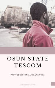 Osun State TESCOM Past Questions