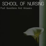 Cross River State School Of Nursing Past Questions