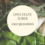 Oyo State SUBEB Recruitment Past Questions And Answers