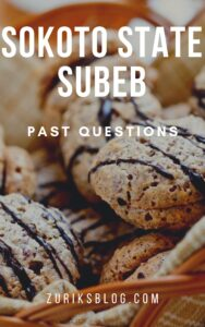 Sokoto State SUBEB Past Questions