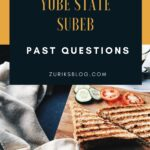 SUBEB Past Questions And Answers For Yobe State