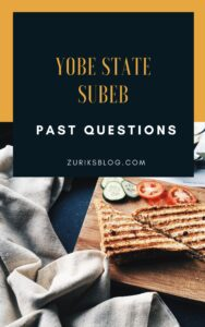Yobe State SUBEB Past Questions