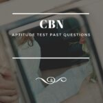 CBN Aptitude Test Past Questions And Answers