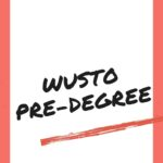 WUSTO Pre-degree Past Questions And Answers
