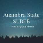 Anambra State SUBEB Aptitude Test Past Questions