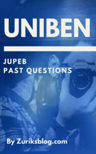 UNIBEN JUPEB Past Questions