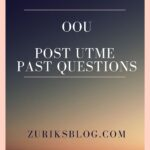 Olabisi Onabanjo University Post UTME Past Questions – Download Here