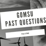 Gombe State University Of Science And Technology Post UTME Past Questions Download