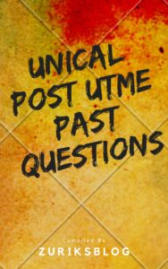 UNICAL Post UTME Past Questions
