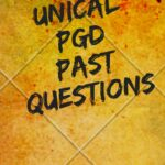UNICAL Postgraduate Past Questions And Answers E-book