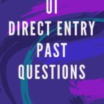 UI Direct Entry Past Questions – University Of Ibadan