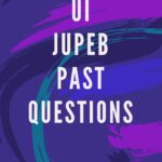 Updated Version Of The UI JUPEB Past Questions E-book