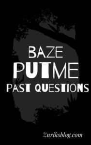 Baze University Post UTME Past Questions