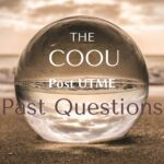 COOU Post UTME Past Questions And Answers | ANSU Screening Questions