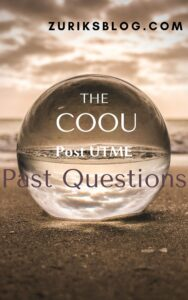 ANSU Post UTME Past Questions