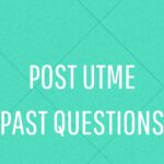 ESUT Post UTME Past Questions And Answers – Free Download
