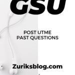 Gombe State University Post UTME Past Questions – GSU Screening Questions Download