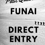 How To Get The FUNAI Direct Entry Past Questions For Free