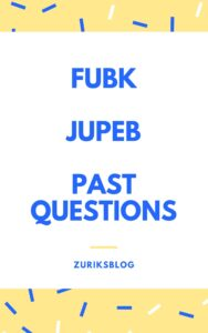 FUBK JUPEB Past Questions