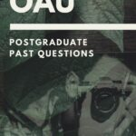 OAU Postgraduate Past Questions And Answers – Download Here