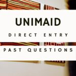 University Of Maiduguri Direct Entry Past Questions | Download For Free