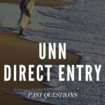 Direct Entry Past Questions For The University Of Nigeria, Nsukka