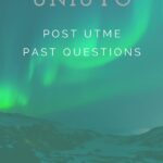 University Of Uyo Post UTME Past Questions And Answers