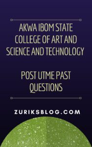 AKWATECH Post UTME Past Questions