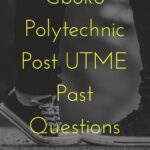 Gboko Polytechnic Post UTME Past Questions And Answers – Download For Free